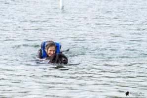 Gigi & Sequence (Swim with handler)